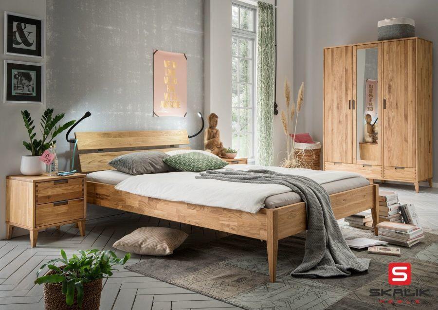Sypialnia Lite Drewno Kolekcja Mido Skalik