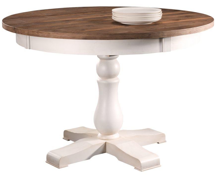 Stół Okrągły Rozkładany Provance Meble Krysiak Pro070