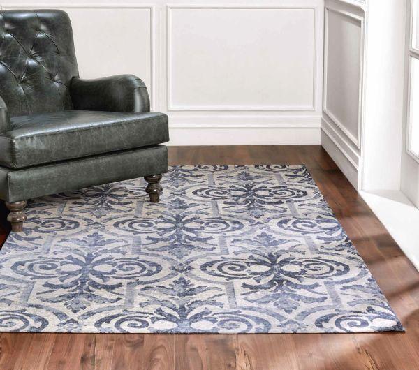 Dywan Ashiyan Navy Blue 160x230 Carpet Decor By Fargotex