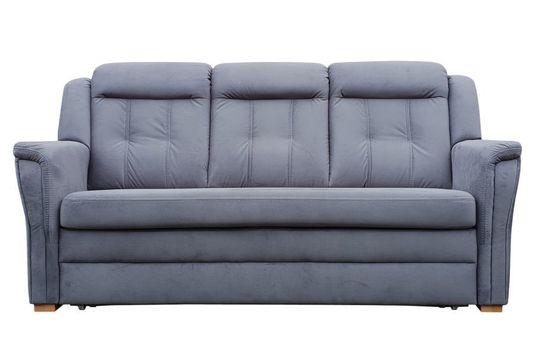 German Sofa 3 Osobowa Z Funkcją Spania Rozkładana Regulowane Zagłówki